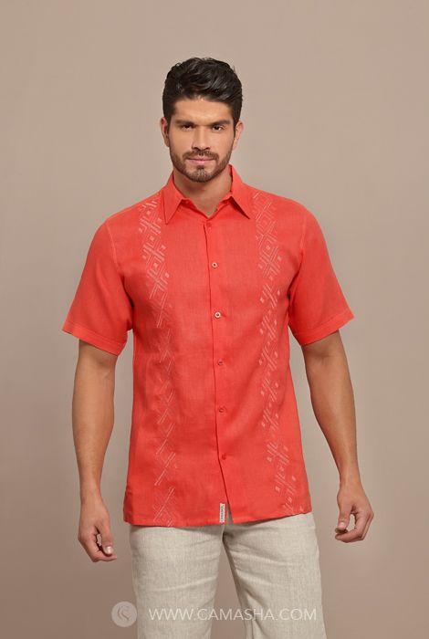 Camisa para hombre marca Camasha Guayaberas