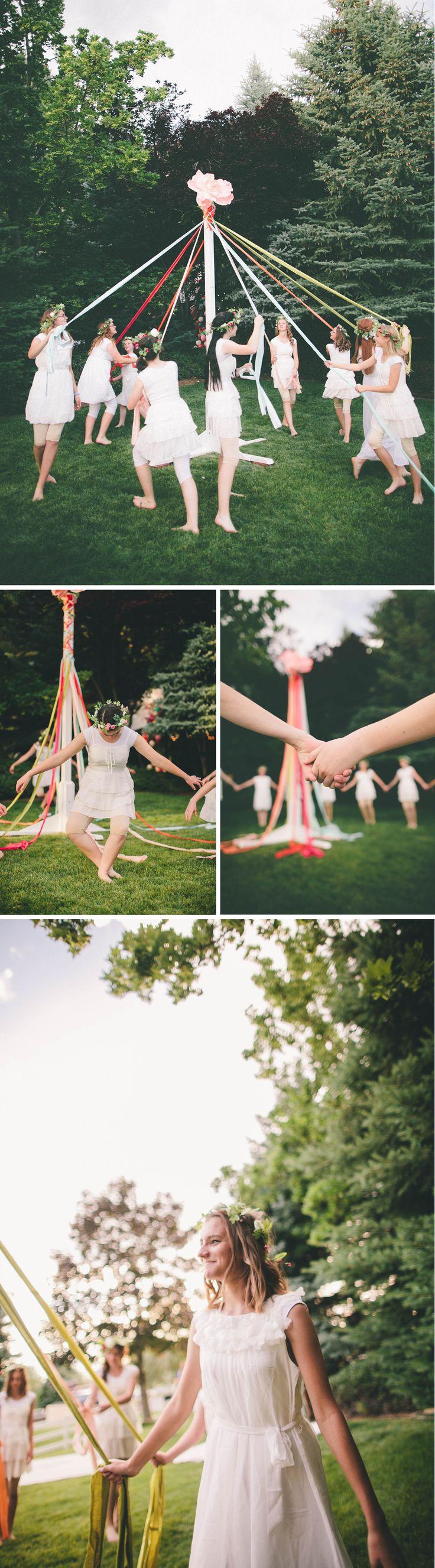 A Midsummer Mingle: The maypole dance