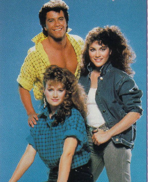 Michael Leon (Pete Jannings), Lisa Trusel (Melissa Anderson), Holly Gagnier (Ivy Jannings)...from Days of Our Lives