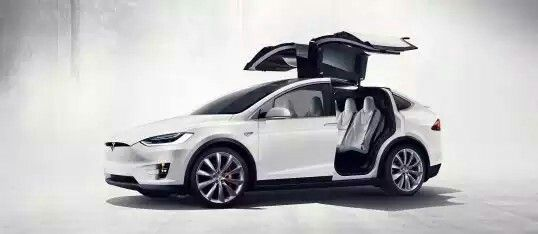 The Model X comes with a hefty price tag of $100,000.Tesla Motors