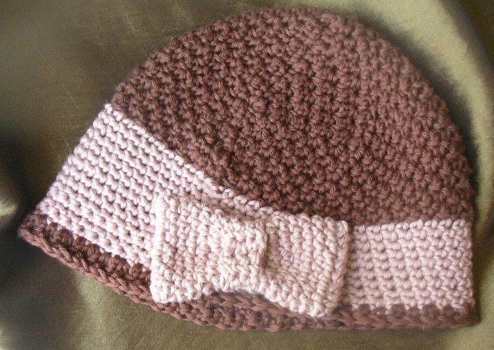 Free Knitting Pattern Baby Cloche Hat : 17 Best images about crochet - HATS on Pinterest Free crochet hat patterns,...