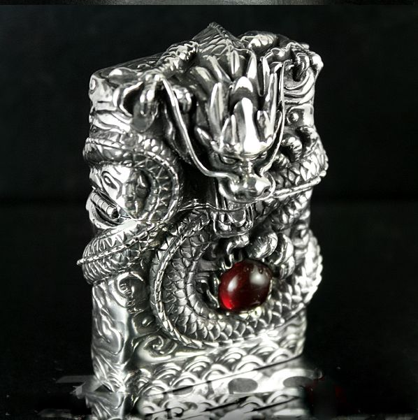 On Guard Dragon 925 Silver Lighter