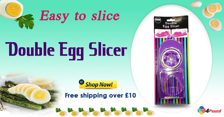 Buy best Kitchen Product Double Egg Slicer Only at #4pound store