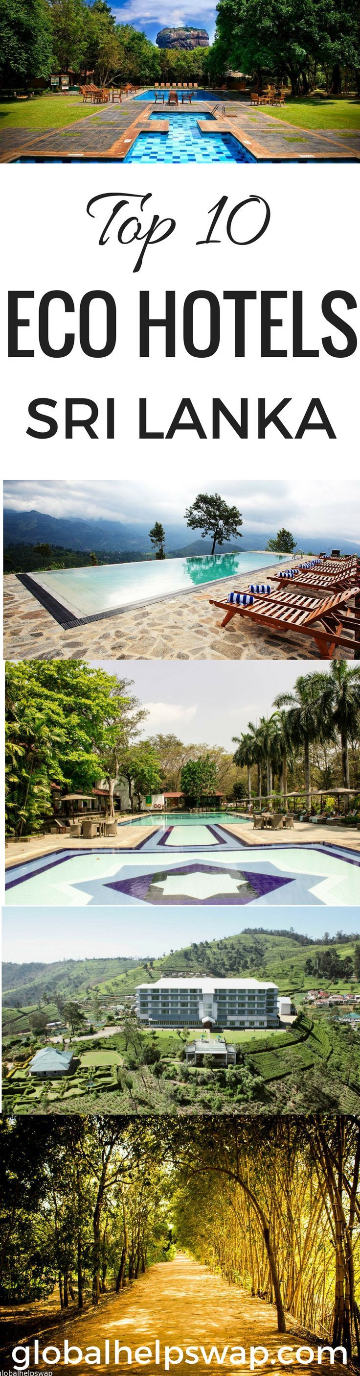 Sri Lanka has some of the most amazing Eco Hotels in the world. They combine beautiful design with breathtaking nature. Some hotels offer amazing villas, others are close to beautiful beaches, some have greats spas. Whether its a honeymoon trip or a special vacation these beautiful hotels and resorts will add magic to your trip.