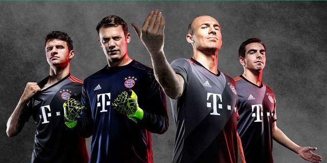 Jersey Baru Bayern Munchen Musim Depan 2016/2017