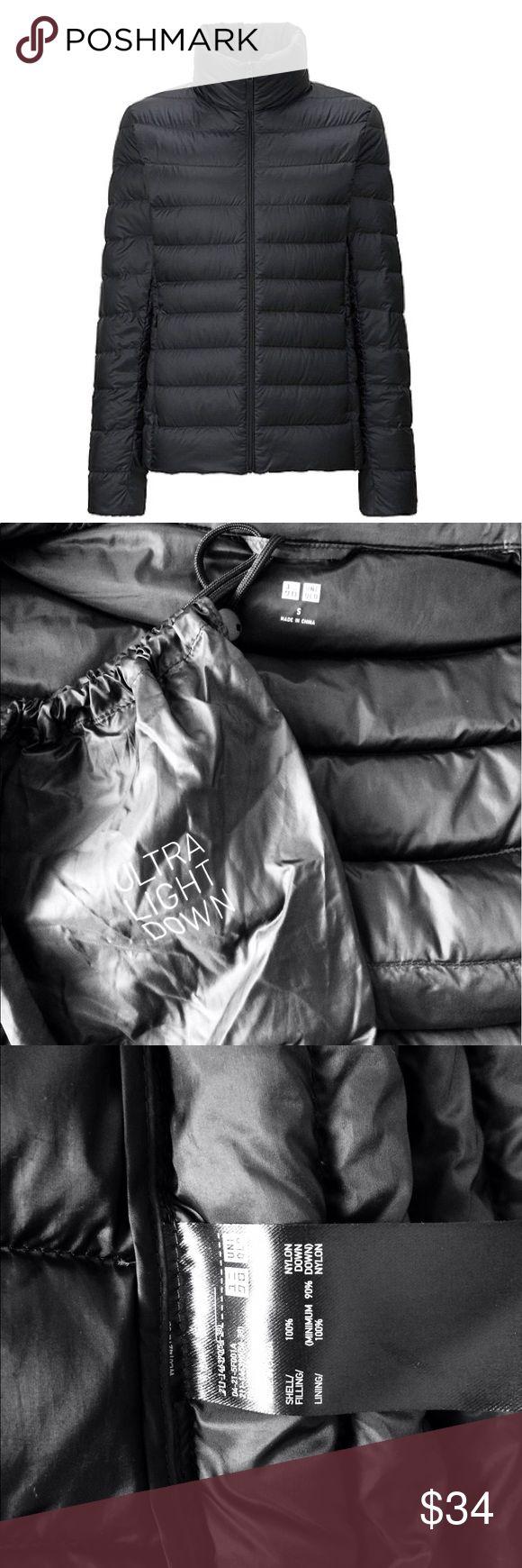 Uniqlo ultra light down jacket. Black. Small. Uniqlo ultra light down women's jacket. Black. Small. Lightly worn. Good condition. Uniqlo Jackets & Coats