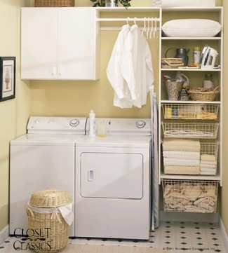 Laundry in a cupboard  Google Image Result for http://accessori-es.com/wp-content/uploads/2012/03/Laundry-Room-Storage4.jpg