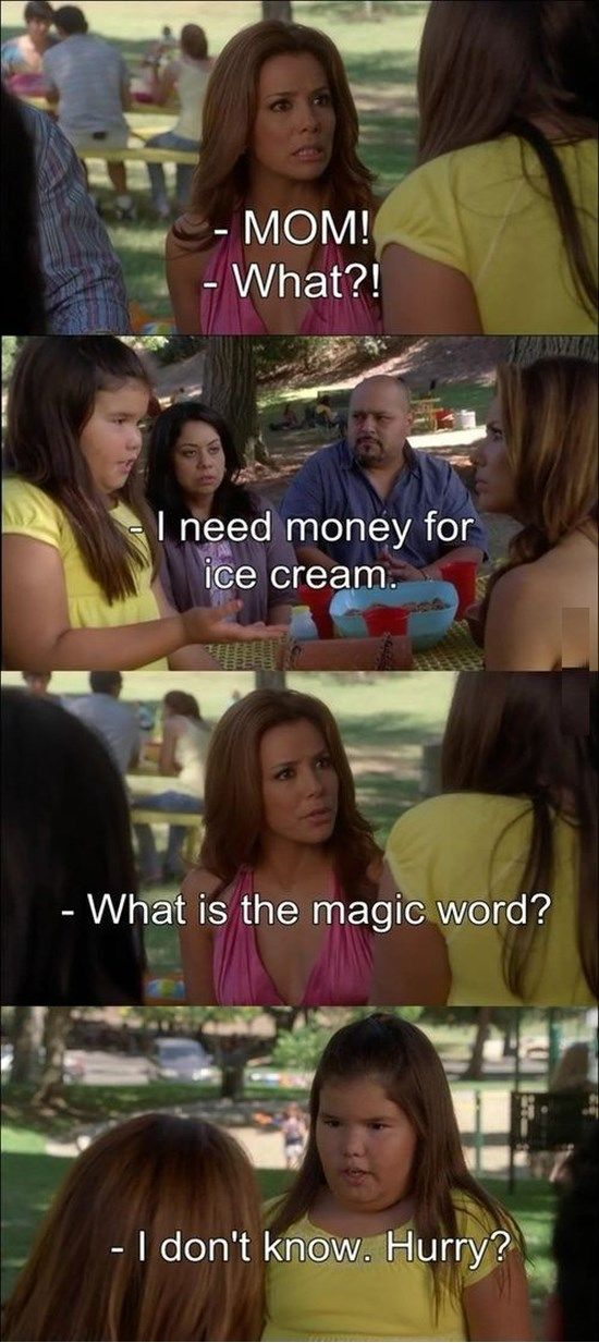 I need money   Desperate housewives, Magic words, Need money