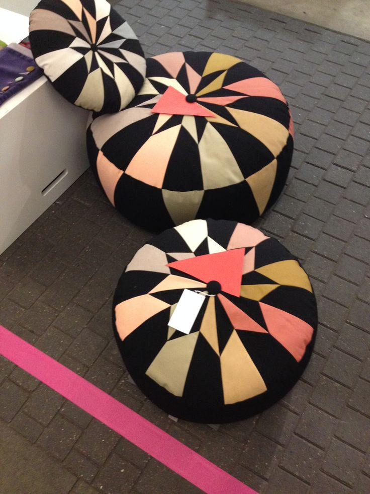 Sold out at Blickfang Copenhagen 2014. Poufs are the New Black