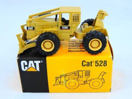 MIB NZG Modelle Caterpillar Cat 528 Log Skidder 1 50 Diecast Replica Forestry
