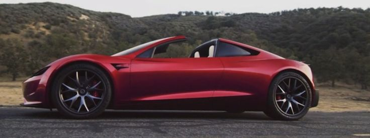 nuevo diseño Tesla Roadster
