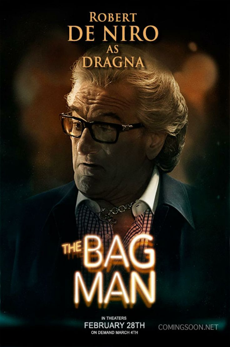 "New ""the Bag Man"" poster, starring Robert De Niro"