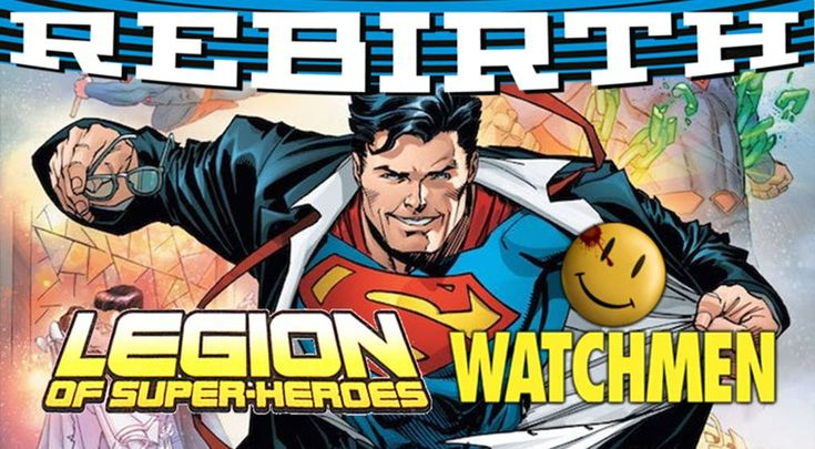 DC Comics April 2017 Solicitations Spoilers: DC Rebirth Superman ...
