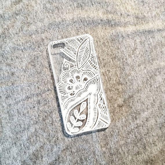 Mandala Leaf Phone Case iPhone Samsung Galaxy door maddyannajane