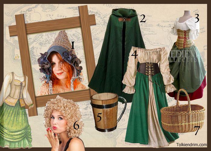 déguisement hobbit femme