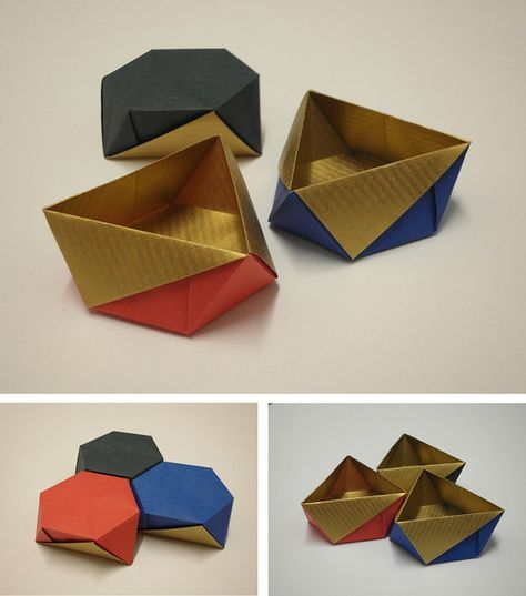 1133 best origami boxes amp containers images on pinterest