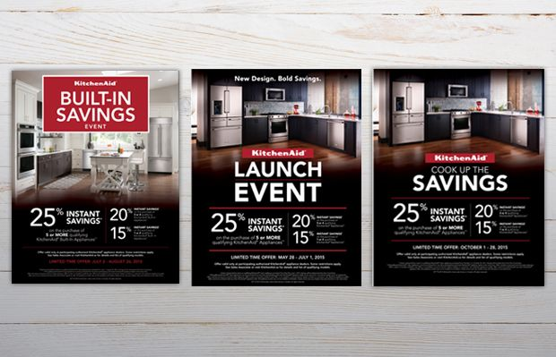 KitchenAid product launch- custom promo design
