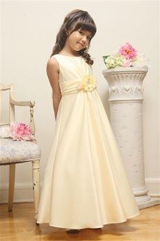 124 best festa ideas images on pinterest fashion plates carissa yellow flower girl dress mightylinksfo