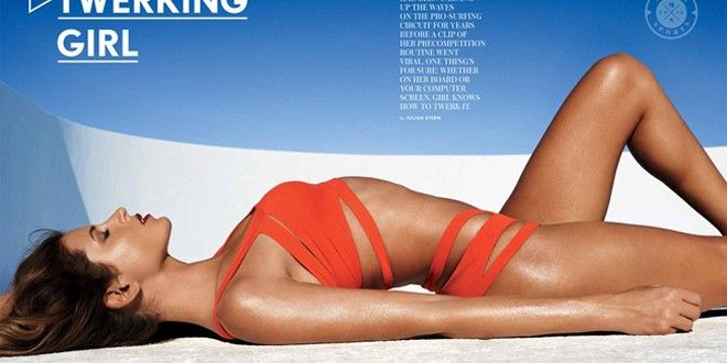 Anastasia Ashley in Maxim Magazine | Indo Barrels