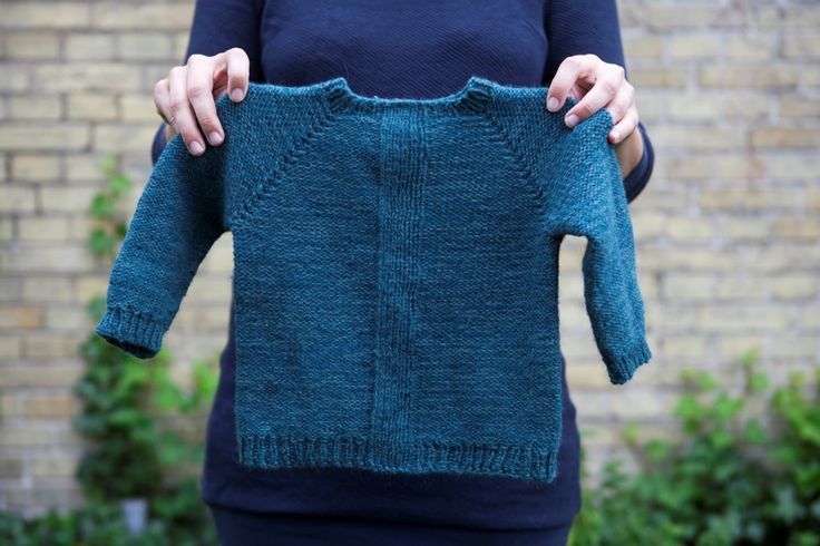 Fir-sweater Knitting pattern for children