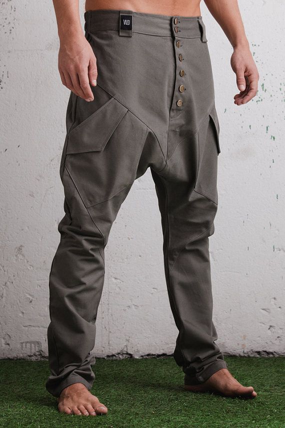 VALO URBAN An impressive drop crotch harem pant by VALOdesigns