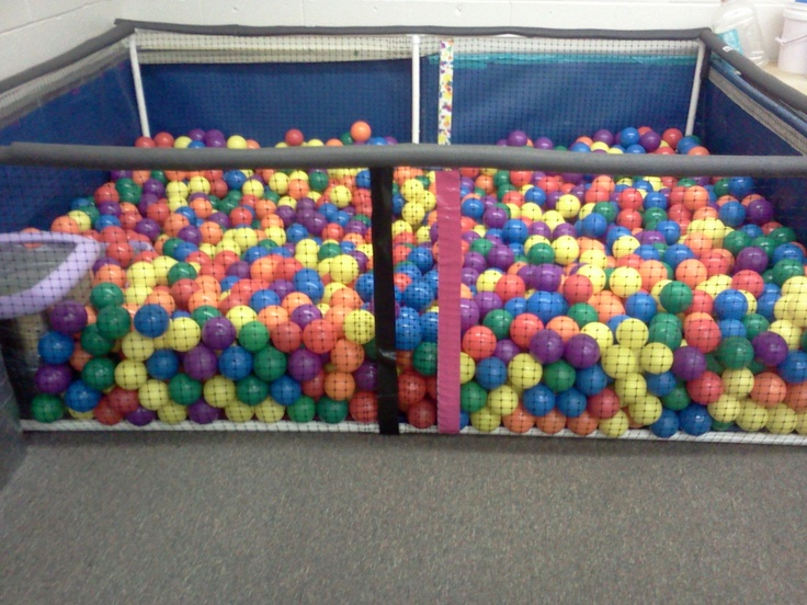 Homemade Ball Pit In Less Than One Hour Sensory