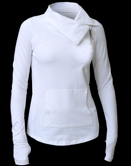 We love this JoFit Lifestyle Jumper Jacket in White | #Golf4Her #Spring #Golf