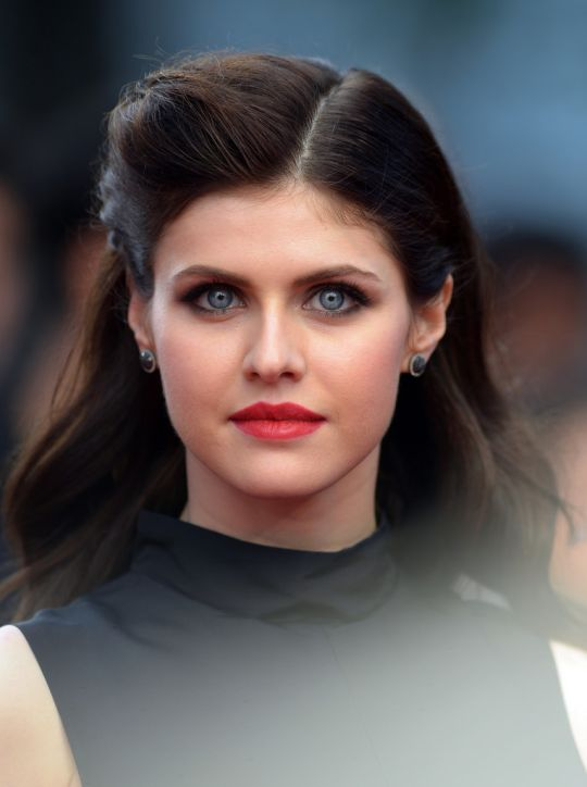 5/21/15 - Alexandra Daddario at the 'San Andreas' Premiere in London.