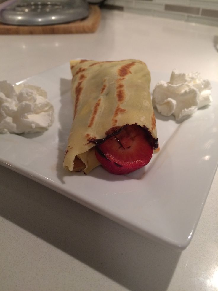 Super Yummy Crepes! Both Savoury and Sweet!