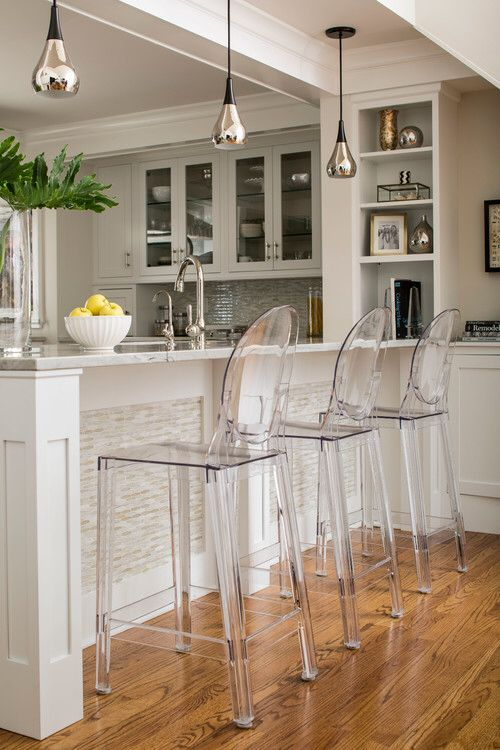 Ghost chairs More · Kitchen StoolsKitchen ... & Best 25+ Breakfast bar stools ideas on Pinterest | Breakfast ... islam-shia.org