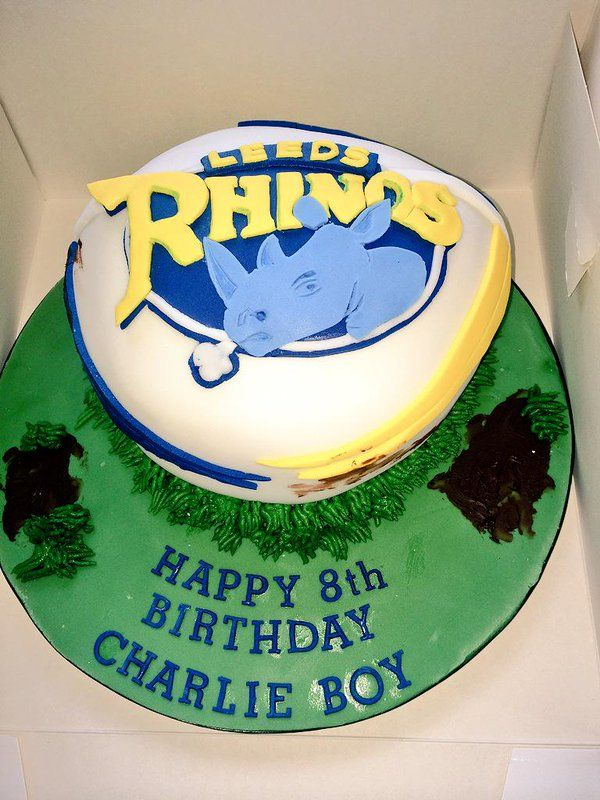 Birthday Cake For Ronnie : 34 best images about Leeds Rhinos cakes on Pinterest ...