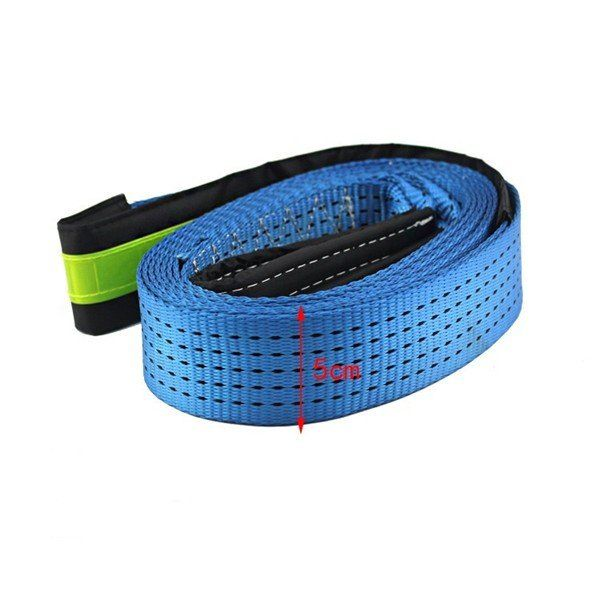5 Meters Enhanced Car Trailer Rope For 7 Tons with Reflective Stripe PullingRope TowRope