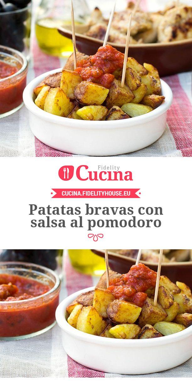 #Patatas bravas con salsa al #pomodoro