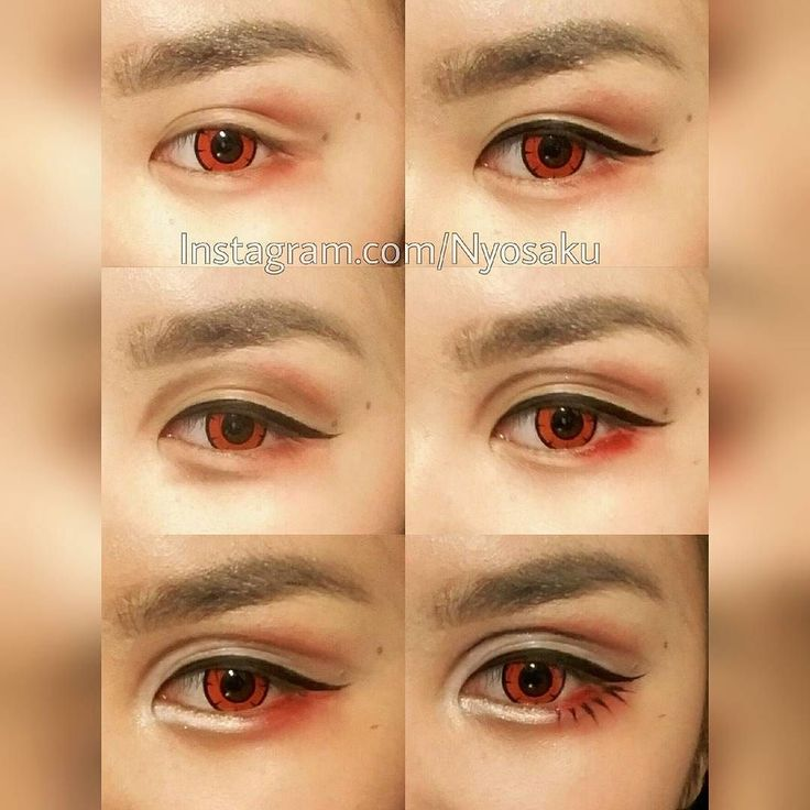 Nagisa Hazuki Eye-makeup Tutorial!  I hope you like it hihu  Tag me if you try…