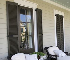 Exterior Wood Shutters Have A Timeless Appeal, Time Adds Characteristics To Wood  Shutters That Can Part 68