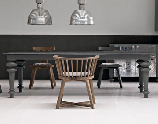 big, fat grey table | Homey Goodness | Pinterest