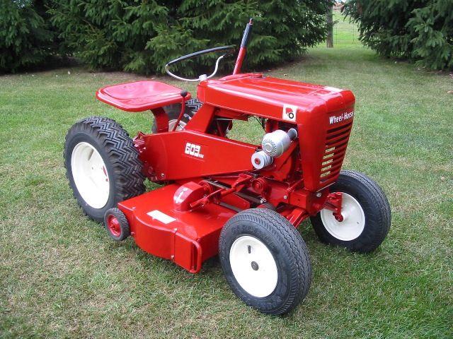 Small Garden Tractors : Best wheel horse images on pinterest old tractors