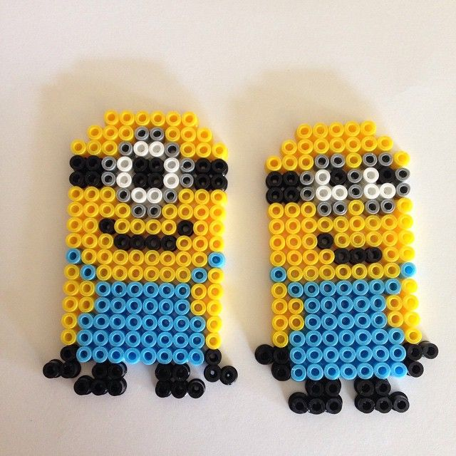 Minion hama beads by gry86
