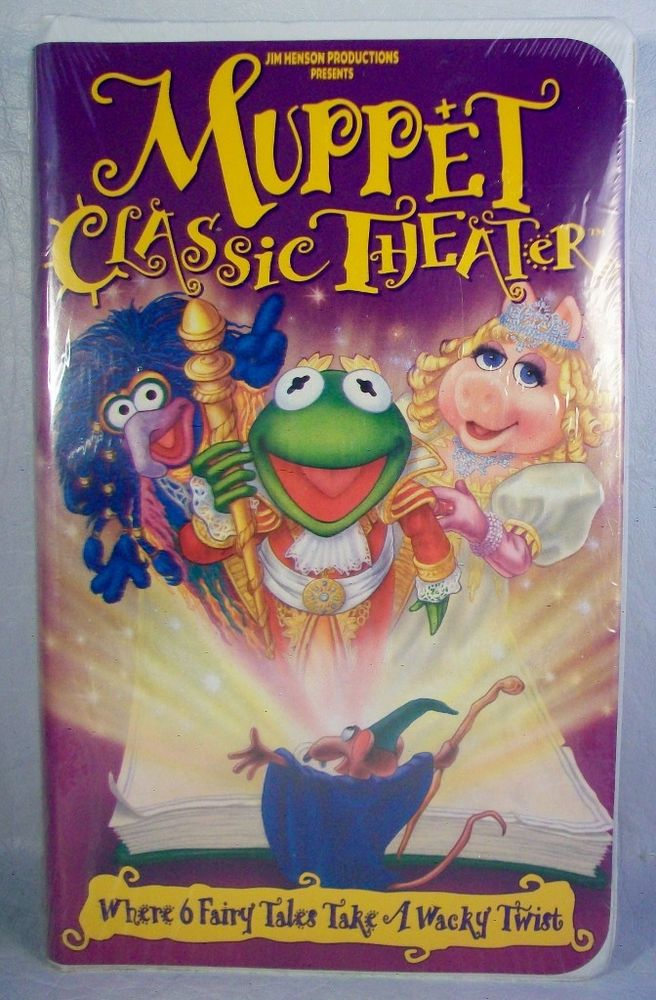 48 best Muppets VHS images on Pinterest   Band, Duct tape ... The Muppet Movie Vhs 1994