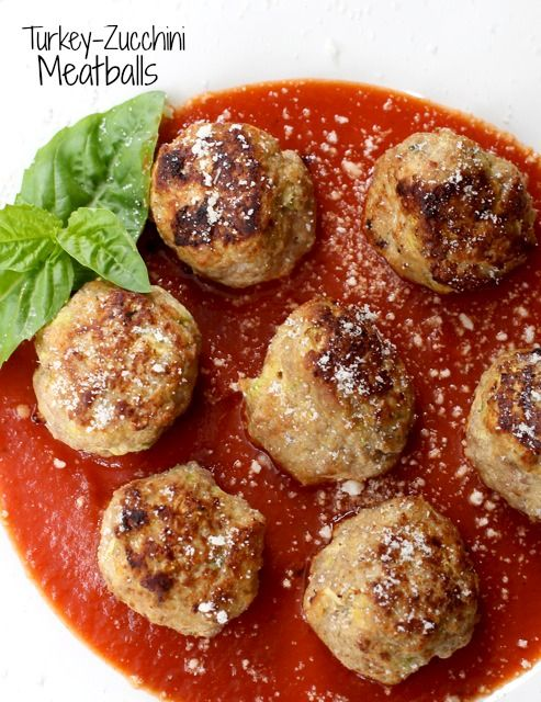 Turkey Zucchini Meatballs, dinner or an appetizer…both delicious! www.mantitlement.com