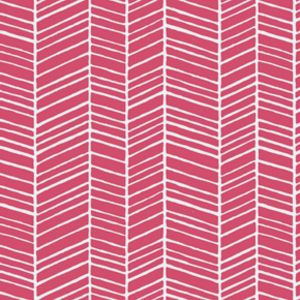 Joel Dewberry - True Colors - Herringbone in Pink, there are many fabrics in the True Colors Line.  I saw this over at Hawthorne Threads.