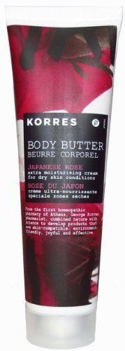KORRES Body Butter - Japanese Rose u/b by smbsi. $4.99. KORRES Body Butter in Japanese Rose, 1.69 fl oz. No Box. EXP: 12/2013