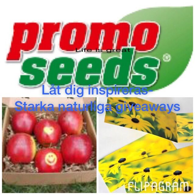 ▶ Spela #flipagram Video Låt ideerna blomma! Www.promoseeds.se - http://flipagram.com/f/SaLZR130nR