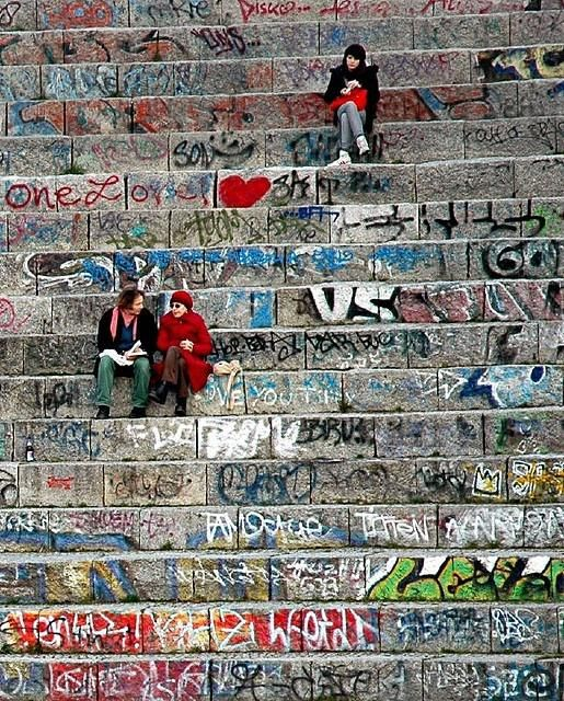 Mauerpark, Berlin, Germany #streetart -- I've GOT to get back to Berlin