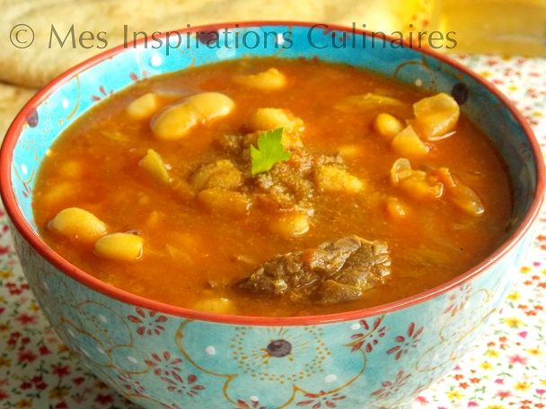 Loubia algerienne, Haricots Blancs en sauce