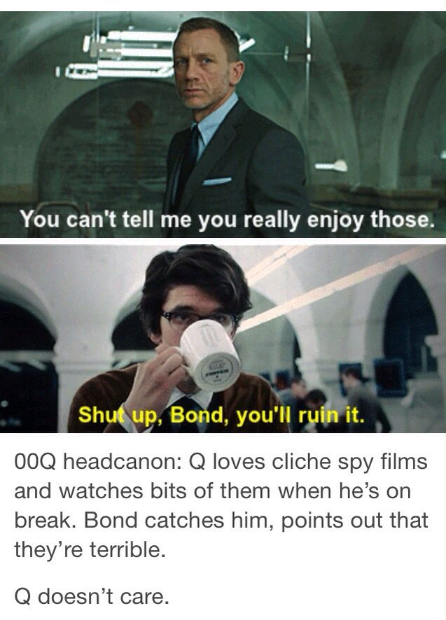 Tumblr; Q; James Bond; 00Q; Skyfall