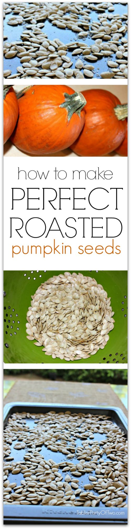 How to make PERFECT roasted pumpkin seeds every time! So good and so good for you.