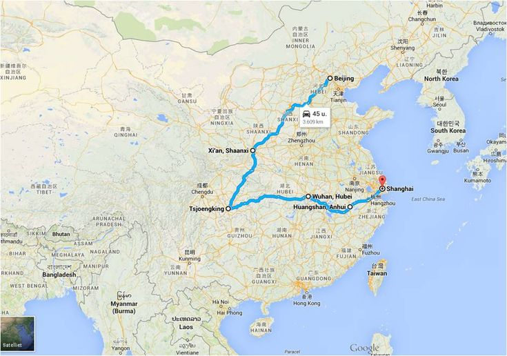 (Noord en midden) China