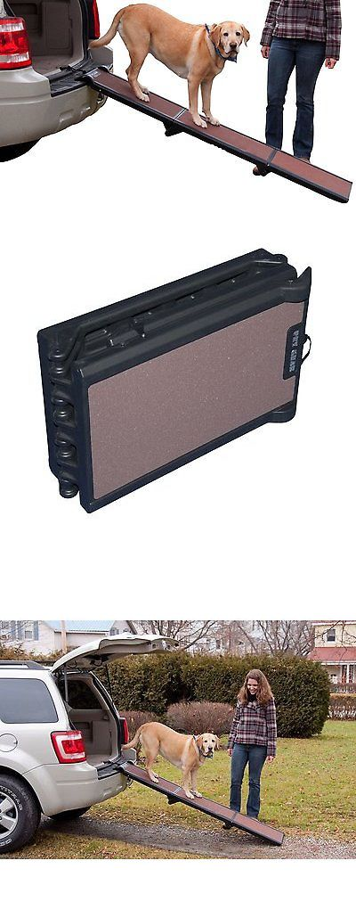 Ramps and Stairs 116389: Folding Dog Ramp Tri-Fold Pet Ramps For Suv Cars Travel Portable Light Weight BUY IT NOW ONLY: $65.55