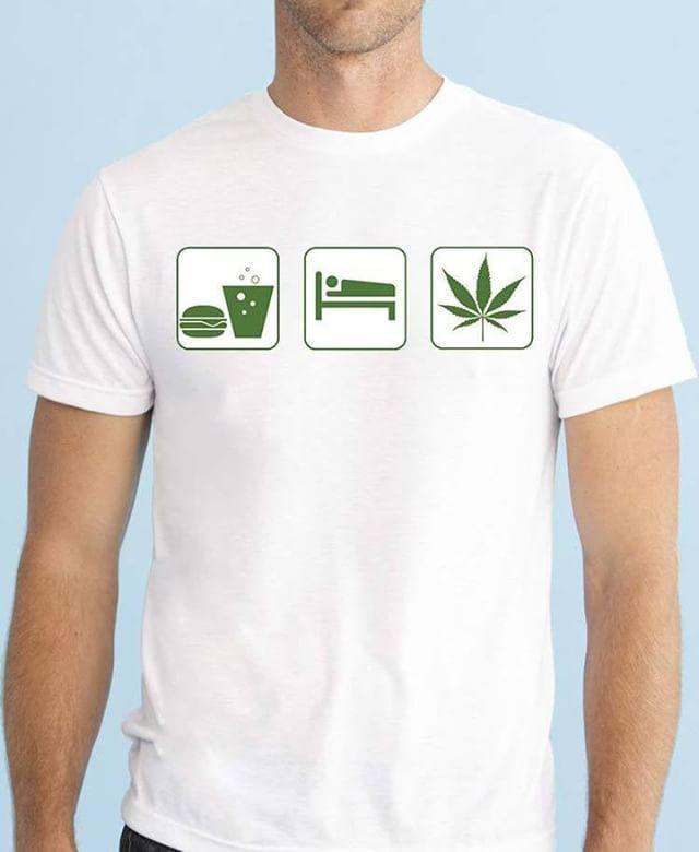 https://www.navdari.com/products-m00486-EATSLEEPCANNABISWEEDDESIGNTSHIRT.html #humor #sleep #eat #weed #cannabis #TSHIRT #CLOTHING #Men #NAVDARI